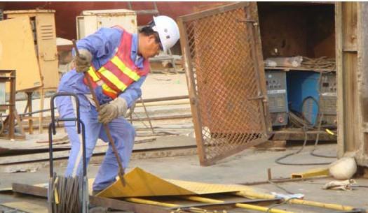 甲板支架建造工程